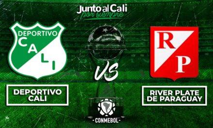 Deportivo Cali iniciará la Copa Conmebol Sudamericana enfrentando a River Plate de Paraguay.