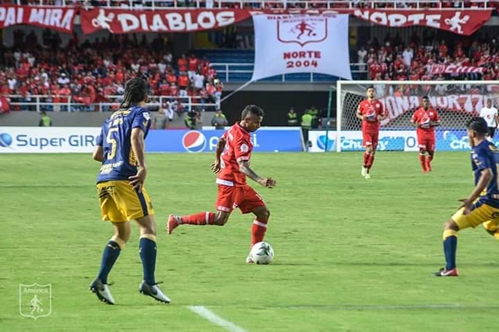 América de Cali derrotó a Medellín en el Pascual Guerrero y se puso líder parcial de la Liga BetPlay.