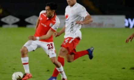 Leones y Escarlatas se enfrentaron en El Campín de Bogotá por Liga BetPlay 2020-I, el marcador favoreció al local 2-0.