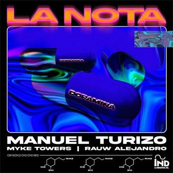 """MANUEL TURIZO estrena su nuevo sencillo y video """"LA NOTA"""""""
