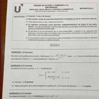 El examen de matemáticas de la EBAU de Andalucía se hace viral por el enfado de los estudiantes