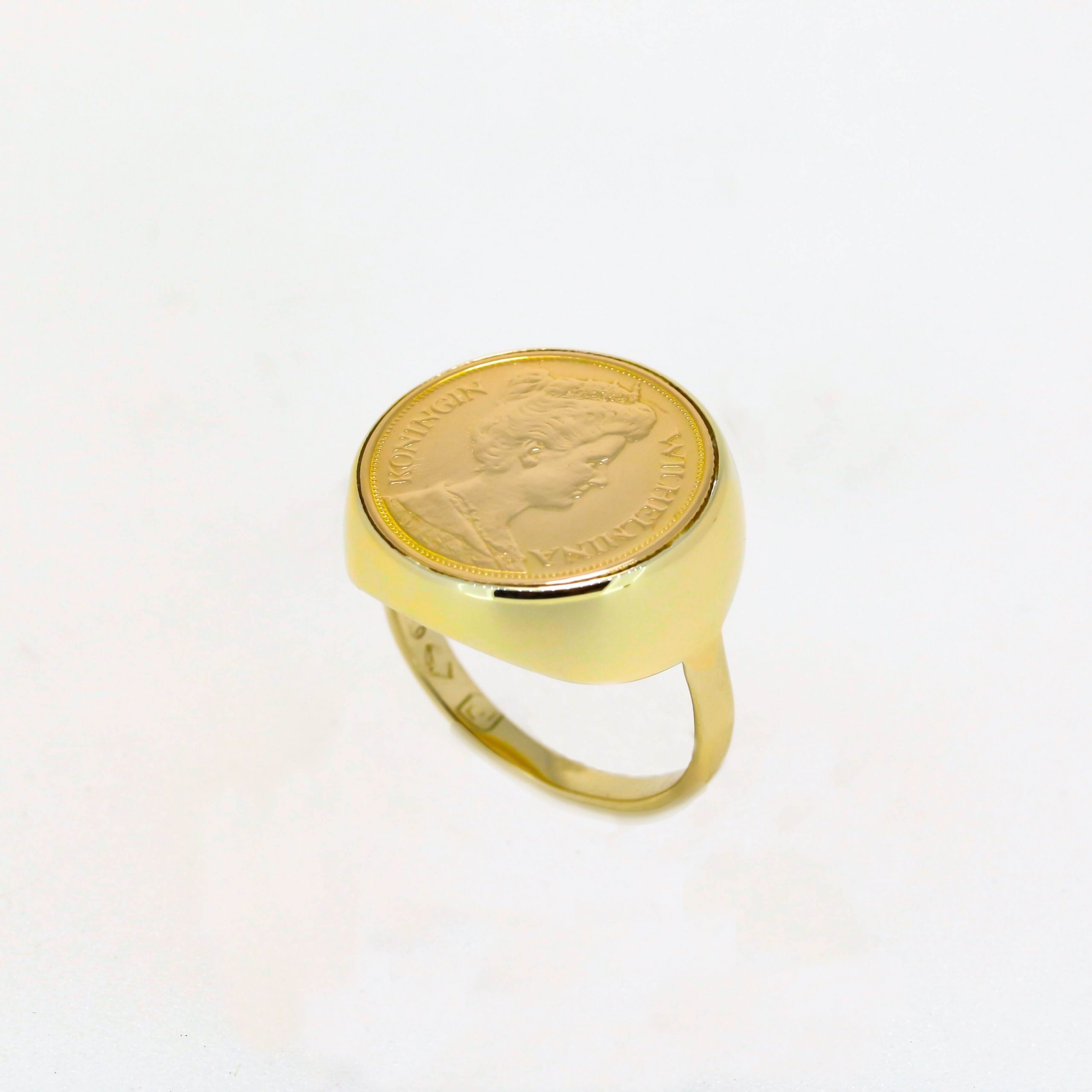 Netherlands Coin Ring