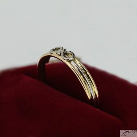 Infinity Friendship Ring   18ct Yellow, White & Rose Gold 4