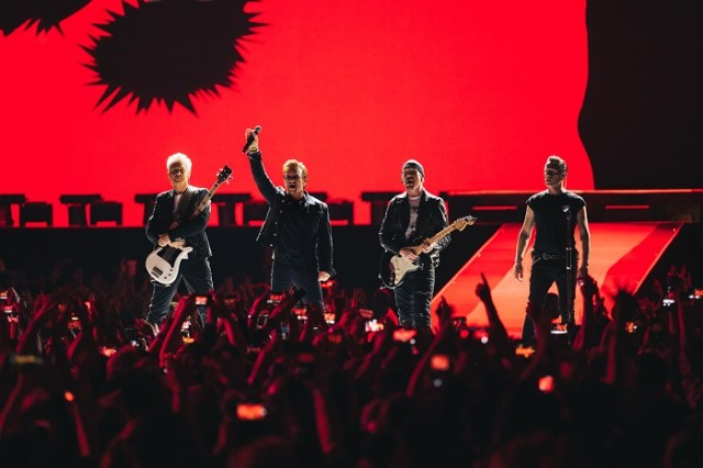 U2, The Joshua Tree Tour 2017, BC Place Vancouver Canada, 12 May 2017
