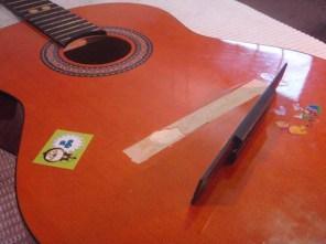גשר שבור בגיטרה