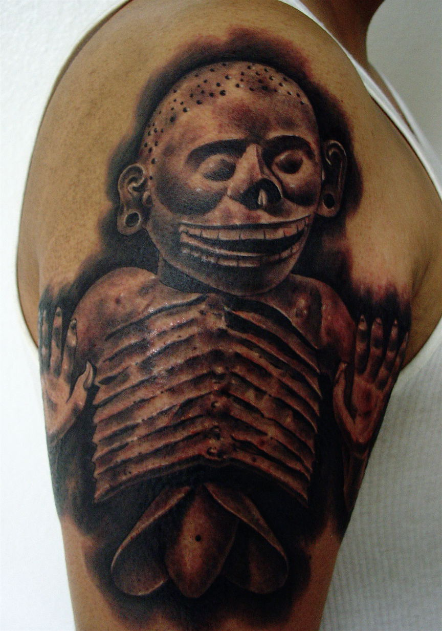 50 Aztec Tattoos You Should Try As A Tattoo Lover  Yo Tattoo
