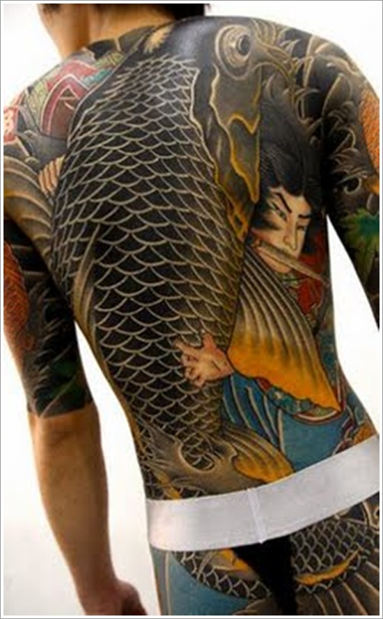 Japan Koi Fish Design
