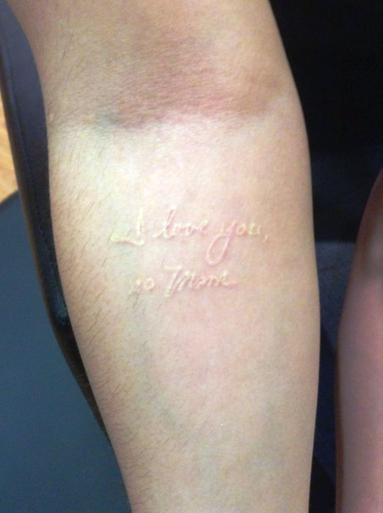 20 Ideas Of Small Tattoos With White Ink Yo Tattoo