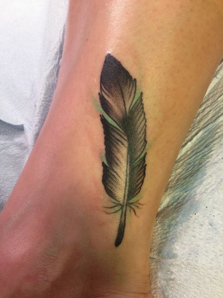 Best Watercolor Feather Tattoo Designs And Ideas Yo Tattoo
