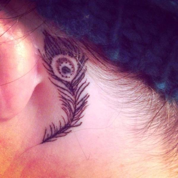 20 Stars Behind Ear Men Tattoos Ideas And Designs