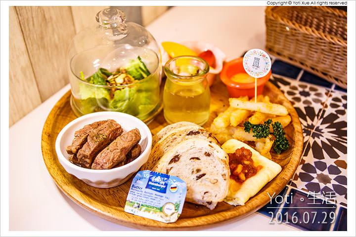 [花蓮市區] 好歐   早午餐輕食, 置身於歐式城堡風的餐廳環境〈試吃邀約〉