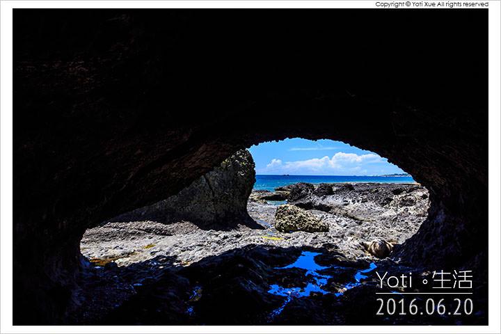 [花蓮豐濱] 石門遊憩區   天然形成的 March 海蝕洞, 知名好萊塢電影取景點
