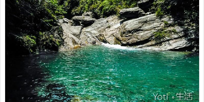 [花蓮銅門] 翡翠谷   在地人的玩水秘境, 享受水簾瀑布下的天然SPA吧!