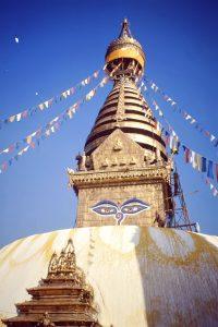 Kathmandu in Nepal.