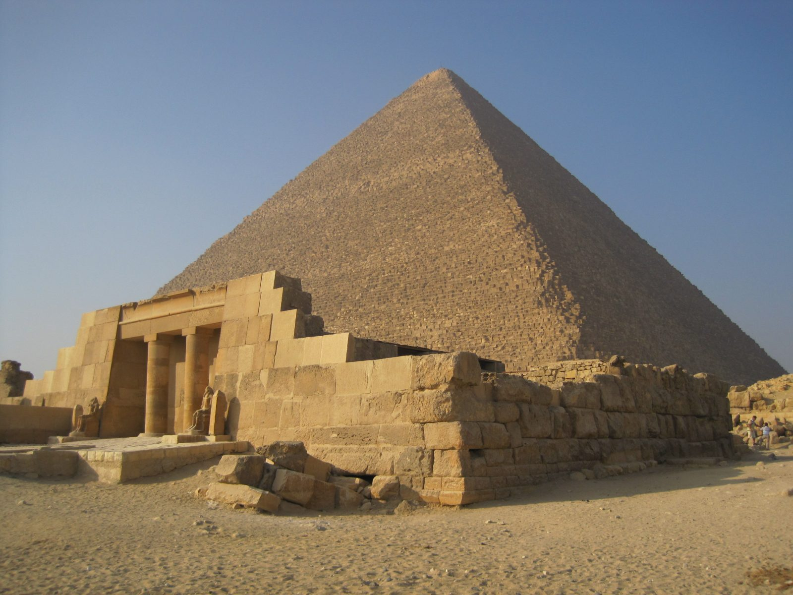 The Great Pyramid of Giza, in Egypt