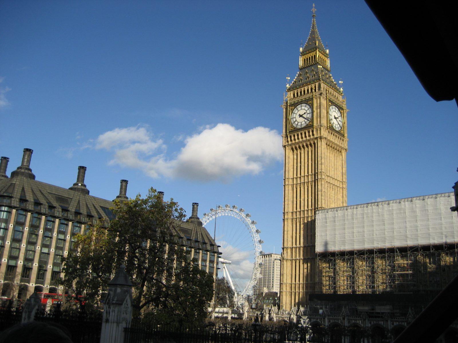 London, Big Ben, UK