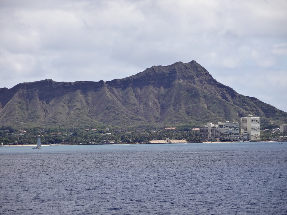 Diamond Head, Waikiki, Hawaii, USA