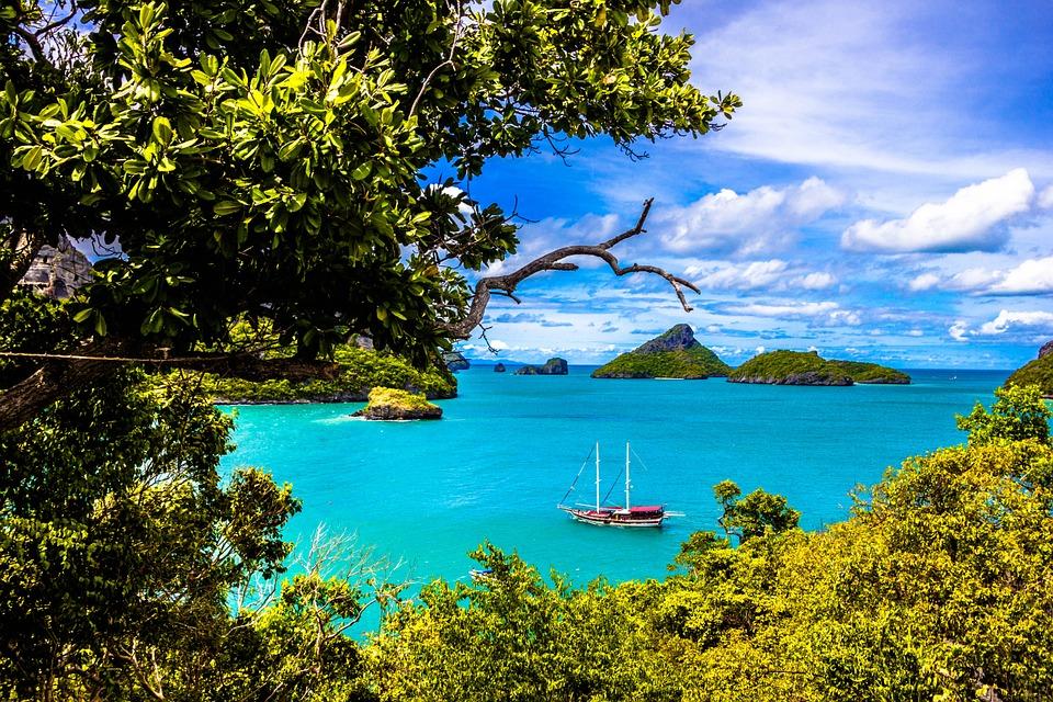 Ang Thong National Marine Park, Samui, Thailand