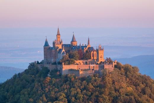 Hohenzollern Castle, Swabian Alps, Baden-Württemberg, Germany.