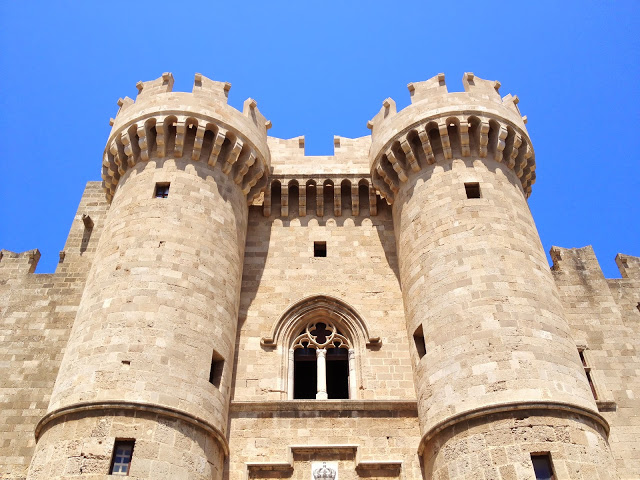 The Palace of the Grand Master, Rhodes, Greece