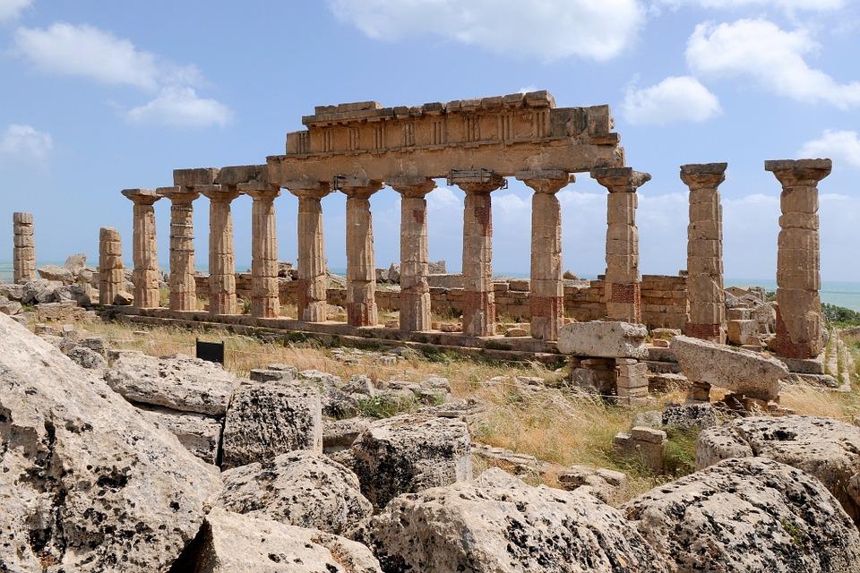 Selinunte, Sicily in Italy.