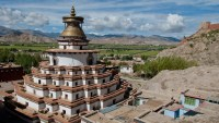Pelkor Chode Monaster, Gyantse, Tibet, China