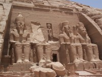 The Abu Simbel, Luxor, Egypt