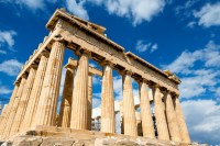 Parthenon at Athenian Acropolis, Greece,
