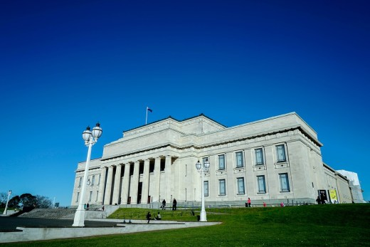 The Auckland War Memorial Museum, New Zealand