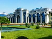 Railway Station in Tashkent, Uzbekistan