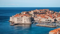 Dubrovnik is a Croatian city in Dalmatia.