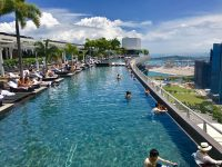 World's largest rooftop Infinity Pool!