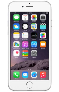 Refurbished Apple iPhone 6 silver 64GB
