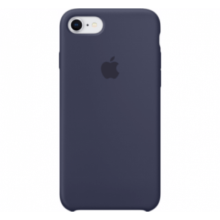 Iphone 7/8 Silicone Blue Back Case