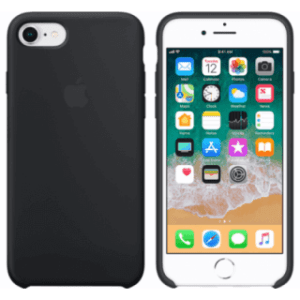 Apple iPhone 7/8 Silicone Cover Zwart