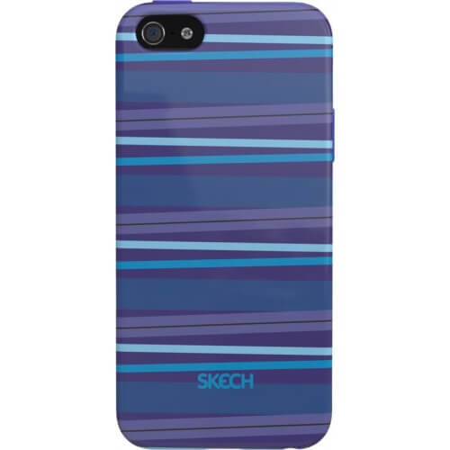 iphone 5/5s/SE Skech Groove Blue Back Case