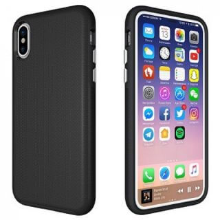 Iphone X Youcase Dual Black Back/Front