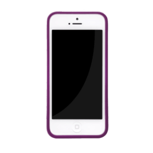 Skech hard rubber case paars iPhone 5/5s/SE