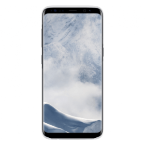 Samsung Clear Cover Zilver Galaxy S8+
