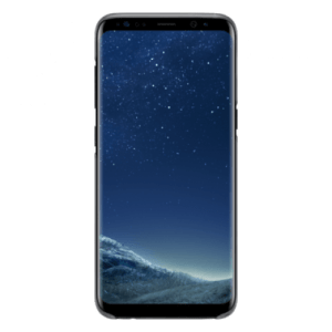 Samsung Clear Cover Zwart Galaxy S8+
