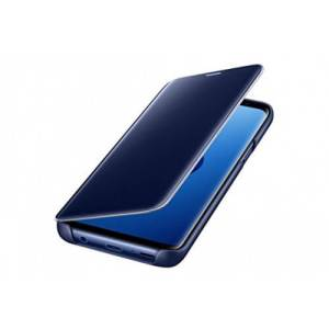Samsung Clear View Cover Blauw Galaxy S9