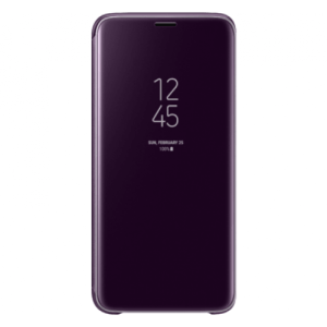 Samsung Clear View Cover Paars Galaxy S9