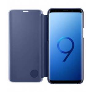 Samsung Clear View Cover Blauw Galaxy S9+