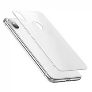 YM Protector iPhone X 5D glass protector Full Glue achter wit