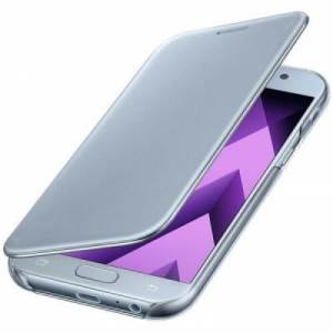 Samsung clear view cover blauw galaxy A5 2017