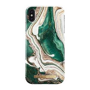 Ideal of Sweden iPhone Xs Max Fashion Back Case Golden Jade Marble