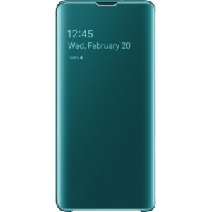 Samsung Clear View Cover Groen voor Samsung Galaxy S10