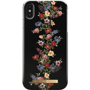 iDeal of Sweden Fashion Back Case Dark Floral voor iPhone Xs