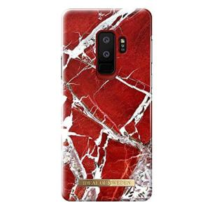 iDeal of Sweden Samsung Galaxy S9+ Fashion Back Case Scarlet Red Marble