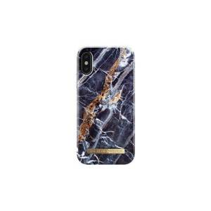 iDeal of Sweden iPhone X Fashion Back Case Midnight Blue Marble